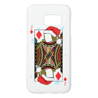 Merry Christmas Jack of Diamonds - Add Your Images Samsung Galaxy S7 Case