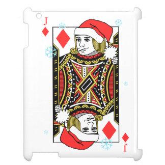 Merry Christmas Jack of Diamonds iPad Covers