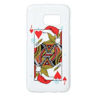 Merry Christmas Jack of Hearts - Add Your Images Samsung Galaxy S7 Case