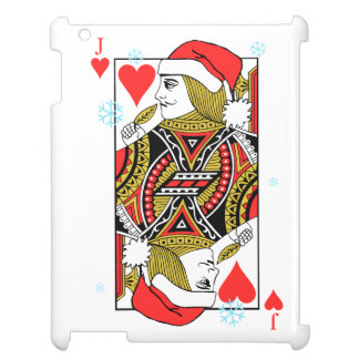 Merry Christmas Jack of Hearts Cover For The iPad