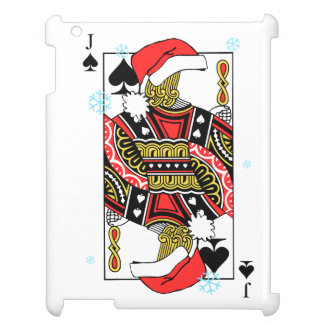Merry Christmas Jack of Spades - Add Your Images Case For The iPad