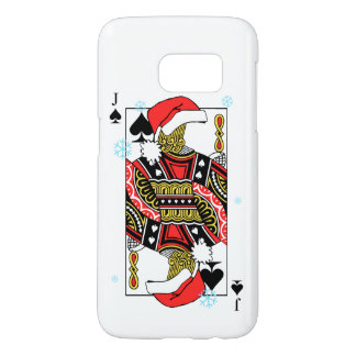 Merry Christmas Jack of Spades - Add Your Images Samsung Galaxy S7 Case