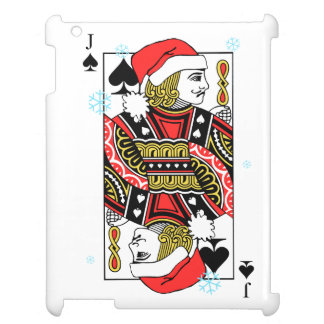 Merry Christmas Jack of Spades Case For The iPad 2 3 4