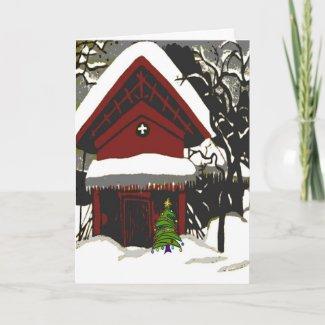 Merry Christmas Japanese Print