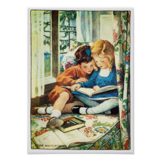 Merry Christmas Jessie Willcox Smith Illustration Posters