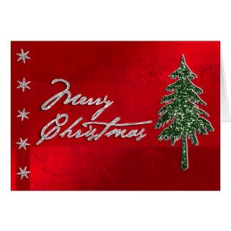 Merry Christmas Jewel Card