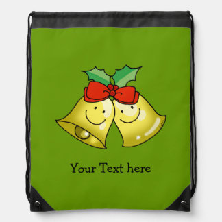 Merry Christmas jingle bells - personalized Backpack