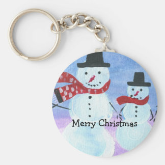 Merry Christmas Keychain