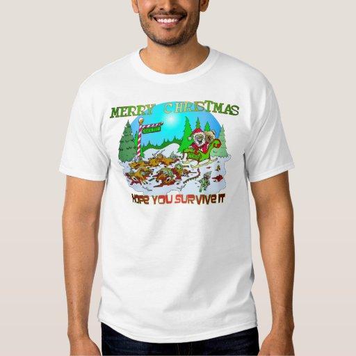 Merry Christmas Killings T Shirt