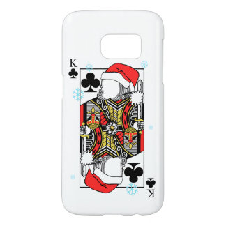 Merry Christmas King of Clubs - Add Your Images Samsung Galaxy S7 Case