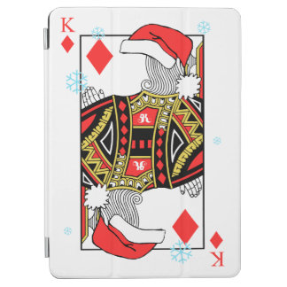 Merry Christmas King of Diamonds - Add Your Images iPad Air Cover