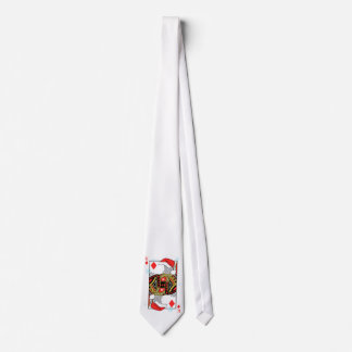 Merry Christmas King of Diamonds - Add Your Images Neck Tie