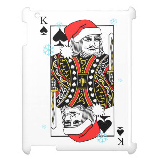 Merry Christmas King of Spades Cover For The iPad 2 3 4