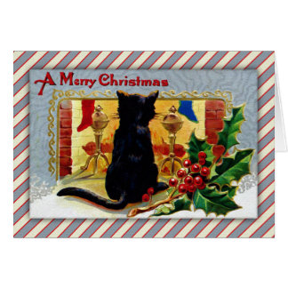 Merry Christmas Kitty Card
