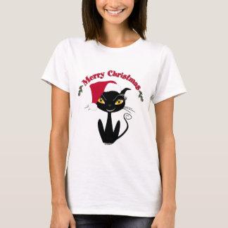 Merry Christmas Kitty Cat T-Shirt