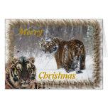 Merry Christmas Landscape Card