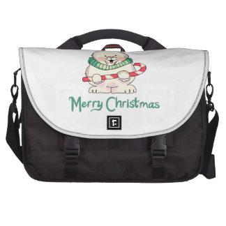 MERRY CHRISTMAS LAPTOP COMPUTER BAG