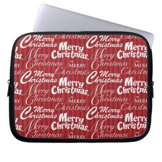 Merry Christmas Laptop & Netbook Sleeves