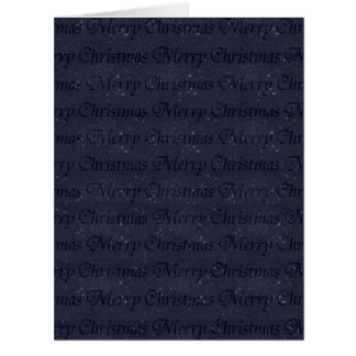 Merry Christmas Large Greeting Card