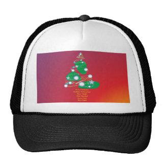 Merry Christmas las navidades Joviales Buon Natale Gorras De Camionero