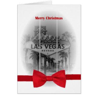 Merry Christmas Las Vegas Card