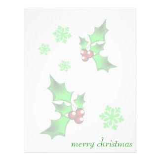 merry christmas letterhead