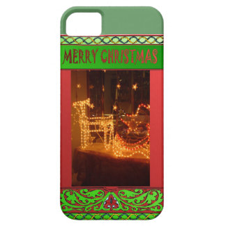 Merry Christmas, lights iPhone SE/5/5s Case
