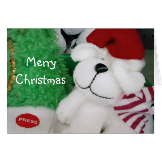 MERRY CHRISTMAS LITTLE ONE GREETING CARD