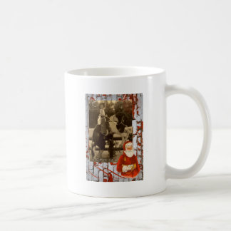 Merry Christmas Little Vintage Cowgirl Horse Coffee Mug