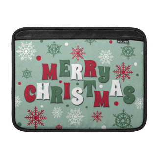 Merry Christmas MacBook Air Sleeve