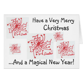 Merry Christmas/Magical New Year.. Cards