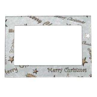 Merry Christmas Magnetic Photo Frame