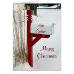Merry Christmas Mailbox Card