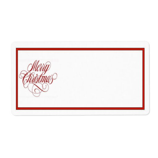 Christmas gift label templates search results calendar 2015 for Christmas mailing labels