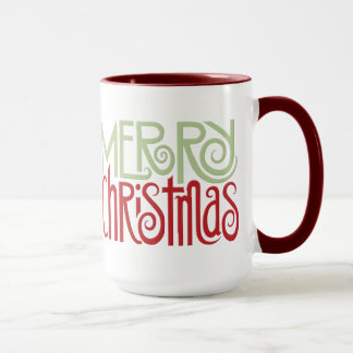Merry Christmas margarita green Mug