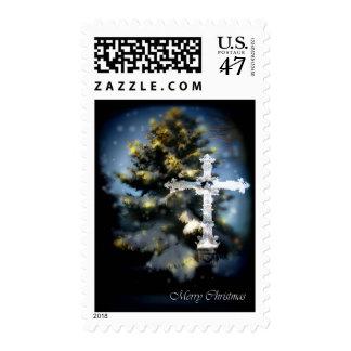Merry Christmas Matching Stamp