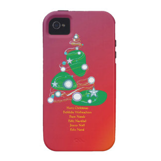 Merry Christmas merry Christmas Buon Natale Case For The iPhone 4