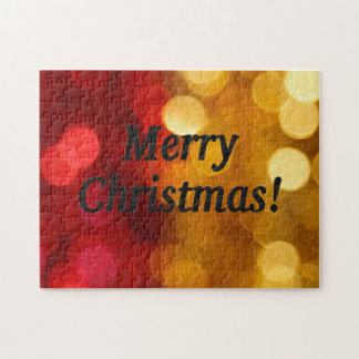 Merry Christmas! Merry Christmas in English. bf Jigsaw Puzzle