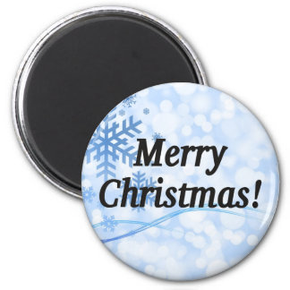 Merry Christmas! Merry Christmas in English. bf Magnet