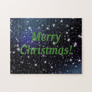 Merry Christmas! Merry Christmas in English. gf Jigsaw Puzzle