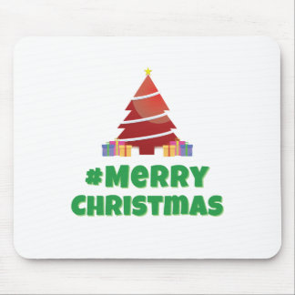 Merry Christmas #merrychristmas Mouse Pad