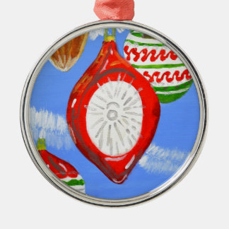 Merry Christmas Metal Ornament