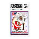 Merry Christmas Military Postage Stamps