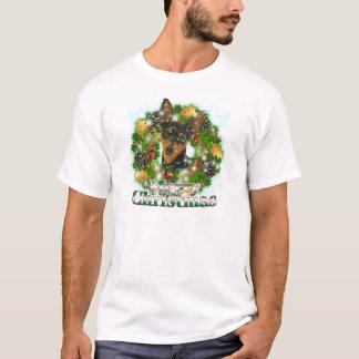Merry Christmas Min Pin T-Shirt