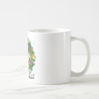 Merry Christmas Miniature Schnauser Coffee Mug