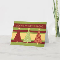 Merry Christmas Mom Card