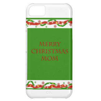Merry Christmas Mom Cover For iPhone 5C