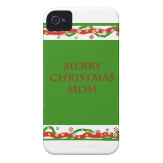 Merry Christmas Mom iPhone 4 Case