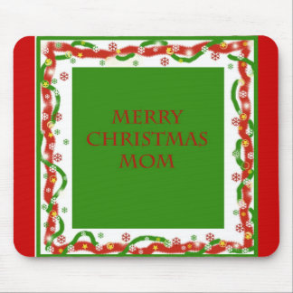 Merry Christmas Mom Mouse Pad