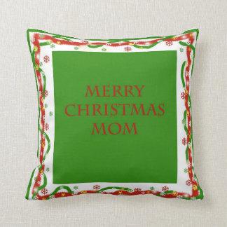 Merry Christmas Mom Pillow